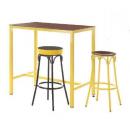 Table haute restaurateur rectangulaire Design Frame Haut