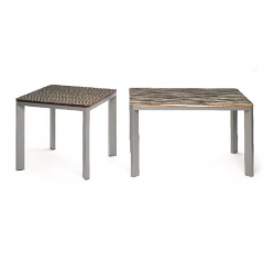 Table restaurateur rectangulaire Design Cinvin