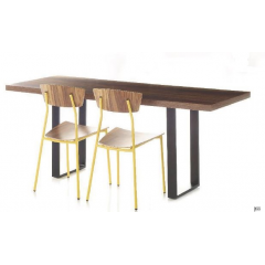 Table restaurateur rectangulaire Design Twin