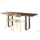 Table restaurateur rectangulaire Design Twin