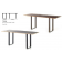 Table rectangulaire Twin