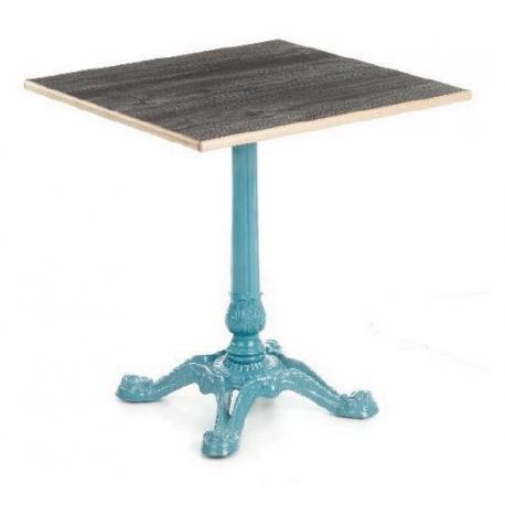 Pied de table bistrot en fonte design paris - Pied de table bistrot ...