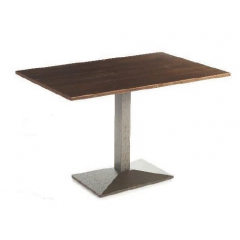Pied de Table simple ou double en fonte rectangulaire Design Nantes
