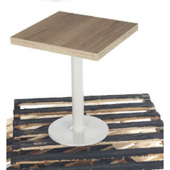 Pied de Table rond en acier Design Nice