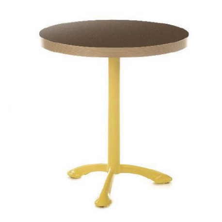 pied de table bistrot en aluminium design tuileries. Black Bedroom Furniture Sets. Home Design Ideas