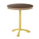 Pied de Table bistrot en aluminium Design Tuileries