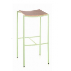 Tabouret de bar en acier Top