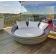 Formentera canapé d'extérieur couleur, lumineux ou solaire