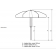Parasol professionnel Classico Street