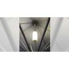Eclairage intégré pour parasol professionnel Macsymo