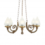 Lustre Chandelier traditionnel de brasserie Design Darwin