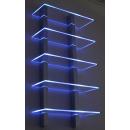 Etagère lumineuse 5 plaques