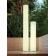 Colonne lumineuse blanche ou couleur et solaire Design Fity