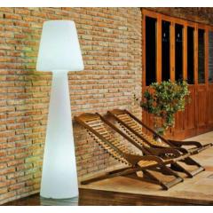 Lampadaire d'extérieur sur batterie rechargeable ou sur secteur Design Lola