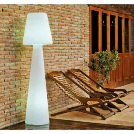 Lampadaire sur batterie rechargeable ou sur secteur Design Lola