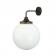 Applique pour extérieur ou salle de bain Design Pelagia IP44